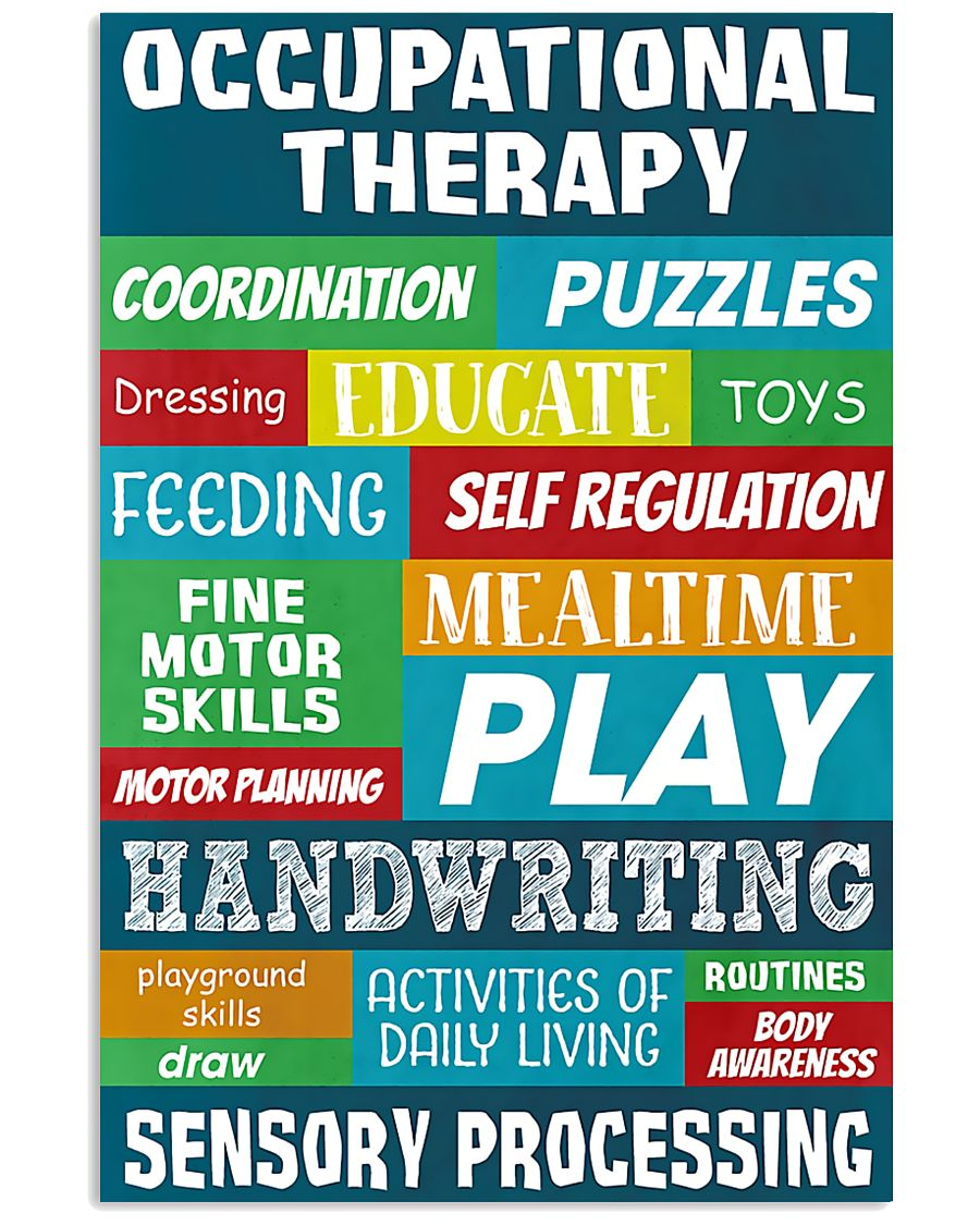 Occupational Therapy Sensory Processing 11x17 Poster