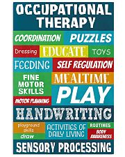 Occupational Therapy Sensory Processing 11x17 Poster front