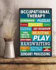 Occupational Therapy Sensory Processing 11x17 Poster lifestyle-poster-3