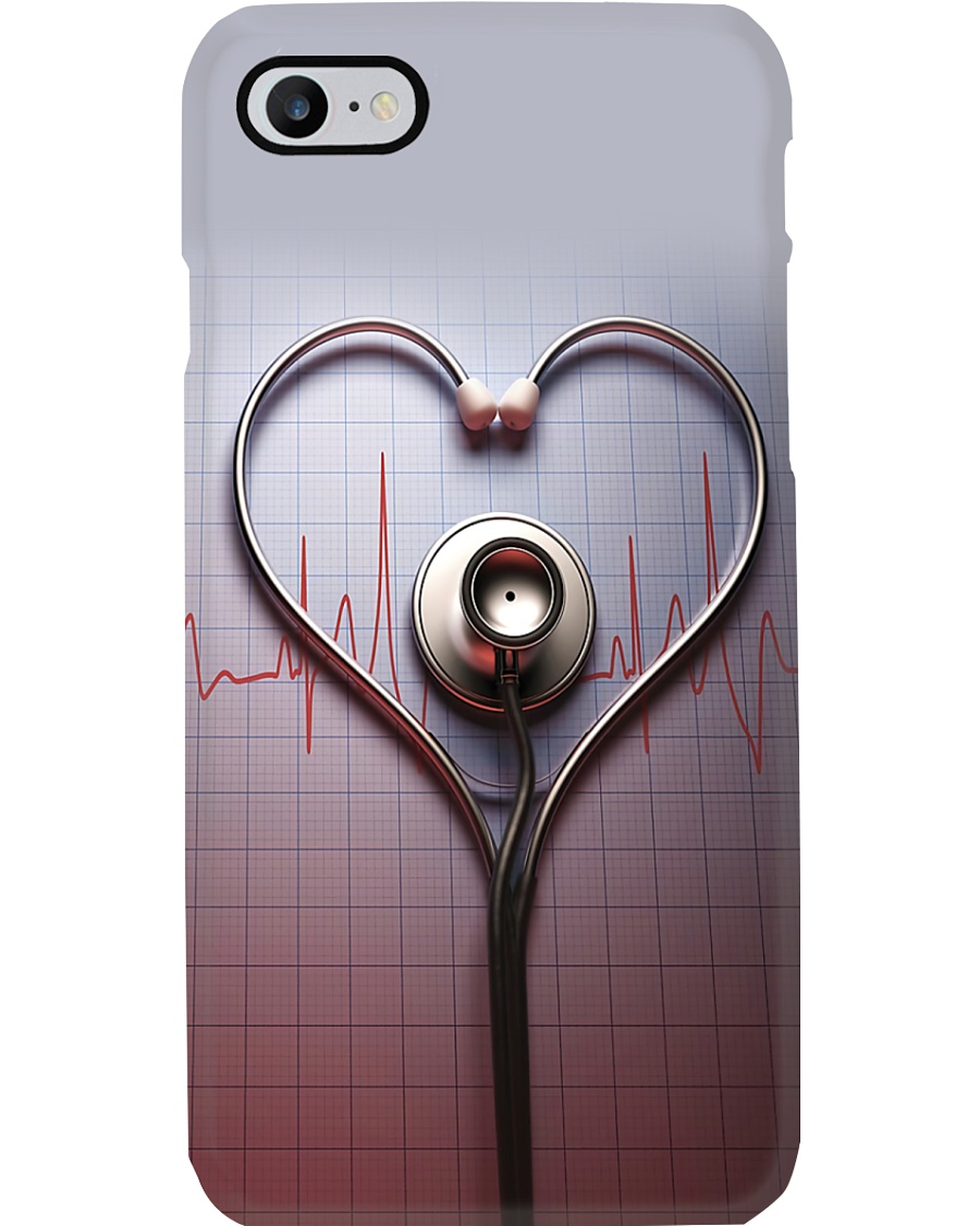 Physician Assistant Love Stethoscope Phone Case