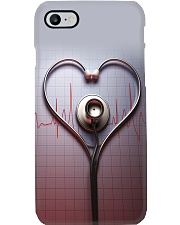 Physician Assistant Love Stethoscope Phone Case i-phone-7-case