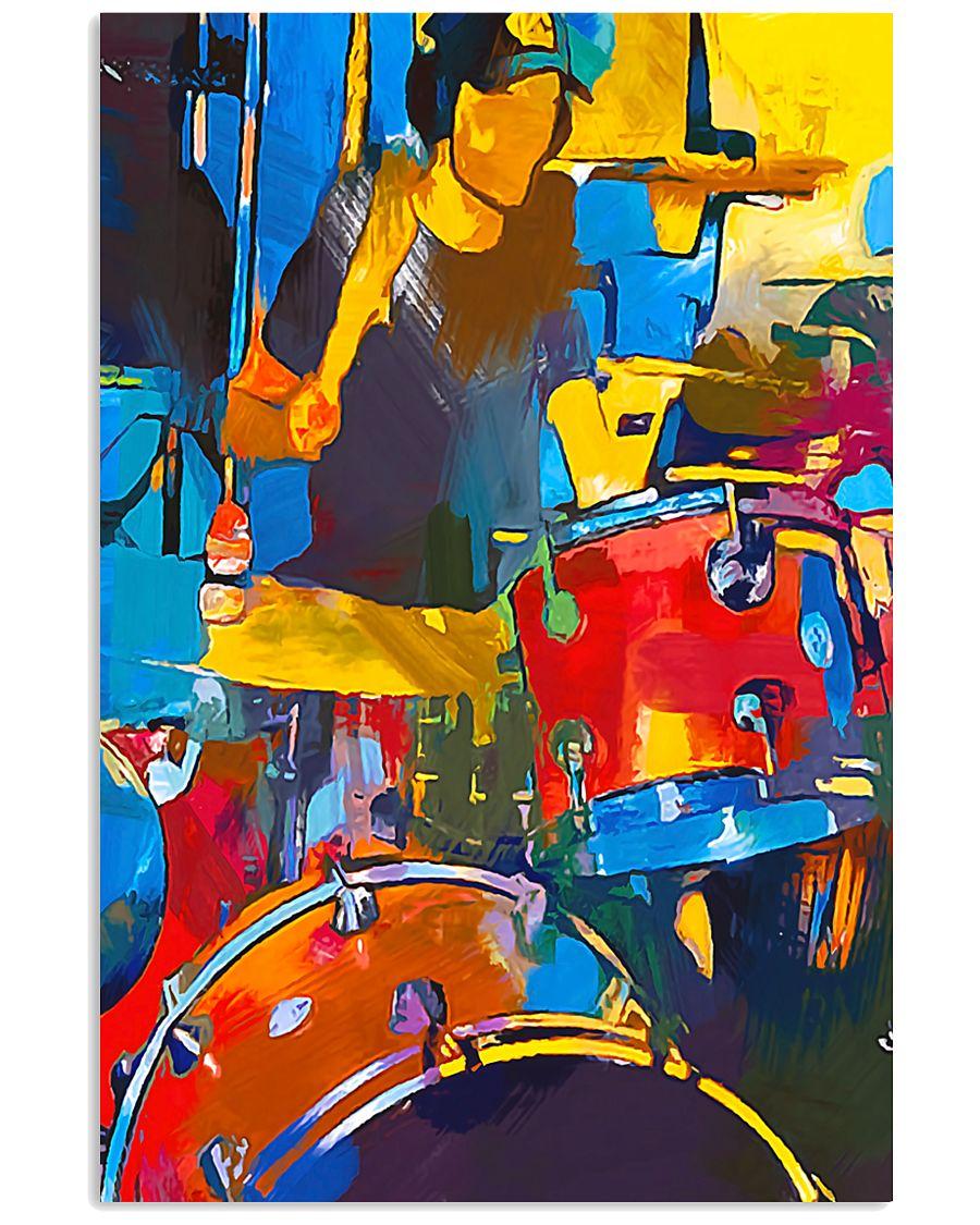 Drummer Art 11x17 Poster