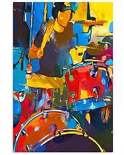 Drummer Art 11x17 Poster front
