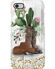 Horse Girl Cactus Phone Case i-phone-8-case