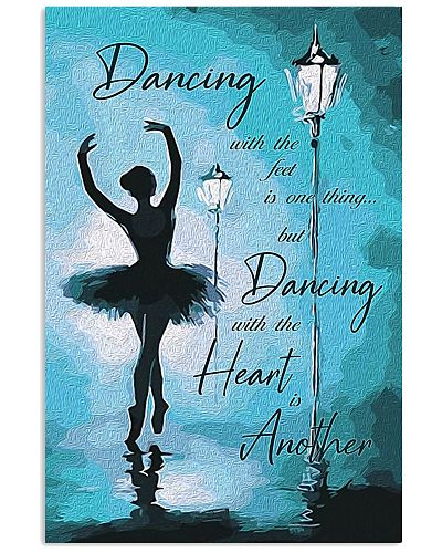 Ballet Dancing with the heart