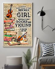 A Girl Who Really Loved Books And Violins 11x17 Poster lifestyle-poster-1