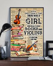 A Girl Who Really Loved Books And Violins 11x17 Poster lifestyle-poster-2
