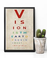 Optometrist Vision Is The Art 11x17 Poster lifestyle-poster-8