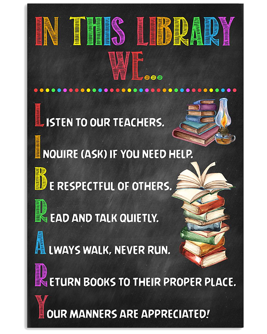 Librarian In This Library  11x17 Poster