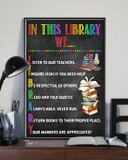 Librarian In This Library  11x17 Poster lifestyle-poster-2