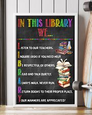 Librarian In This Library  11x17 Poster lifestyle-poster-4