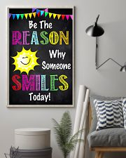 Social Worker Be The Reason Why Someone Smiles  11x17 Poster lifestyle-poster-1