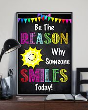 Social Worker Be The Reason Why Someone Smiles  11x17 Poster lifestyle-poster-2