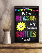 Social Worker Be The Reason Why Someone Smiles  11x17 Poster lifestyle-poster-3