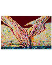 Massage Therapist Massaging 24x16 Poster front