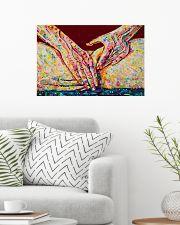 Massage Therapist Massaging 24x16 Poster poster-landscape-24x16-lifestyle-01
