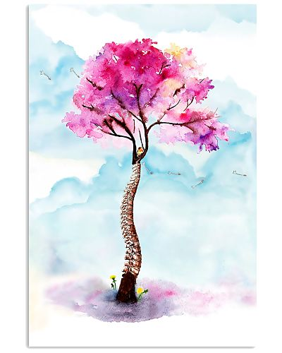 Physical Therapy Colorful Watercolor Spine Tree