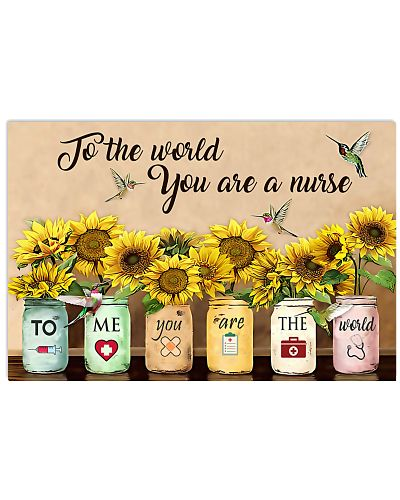 Nurse To Me You Are The World
