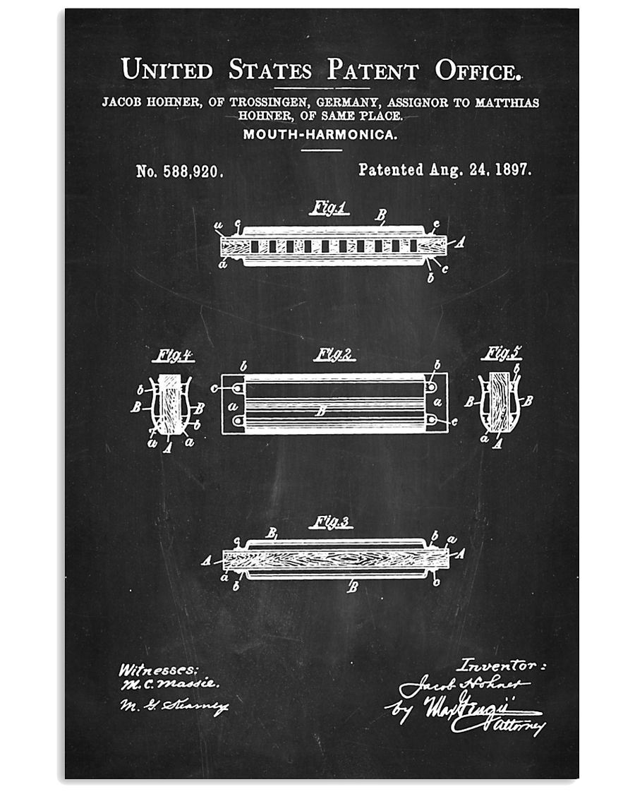 Detail Harmonica 11x17 Poster