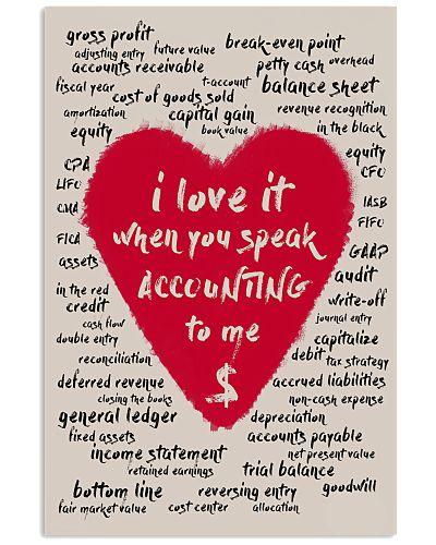 Accountant - I love when you speak accounting