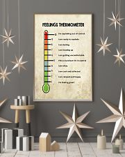 Social Worker Feelings Thermometer  11x17 Poster lifestyle-holiday-poster-1