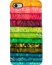 Colorful Fabric Sewing Phone Case i-phone-7-case