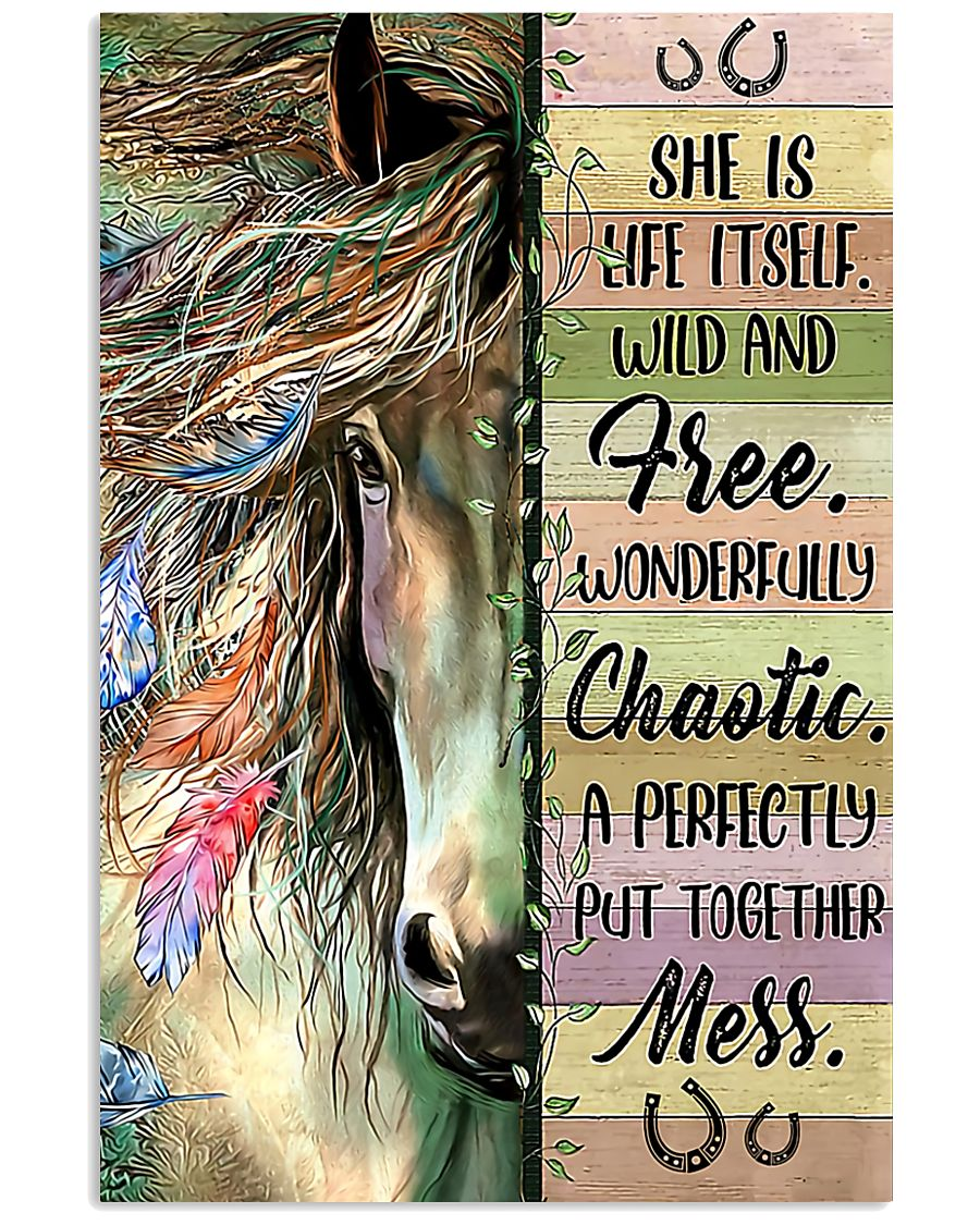 Horse Girl - She Is Life Itself 11x17 Poster