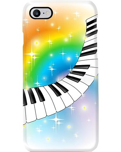 Piano on the rainbow