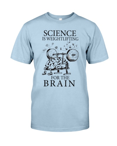 Scientist Science is weightlifting for the brain