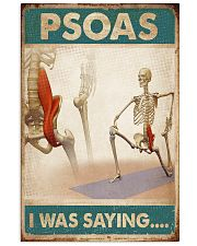 Massage Therapist  Psoas I was saying 24x36 Poster front