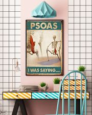 Massage Therapist  Psoas I was saying 24x36 Poster lifestyle-poster-6