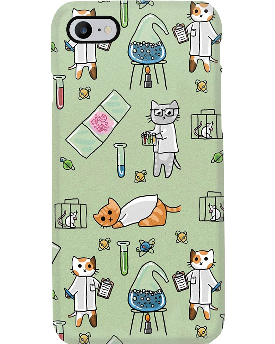 Science Scientist Gift Cat Phone Case