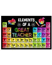 Elements Of A Great Teacher 17x11 Poster front