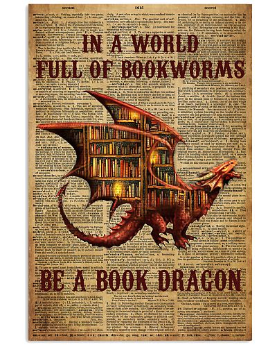 Librarian Full Of Bookworms Be A Book Dragon