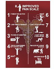 Physical Therapy Improved Pain Scale 11x17 Poster front