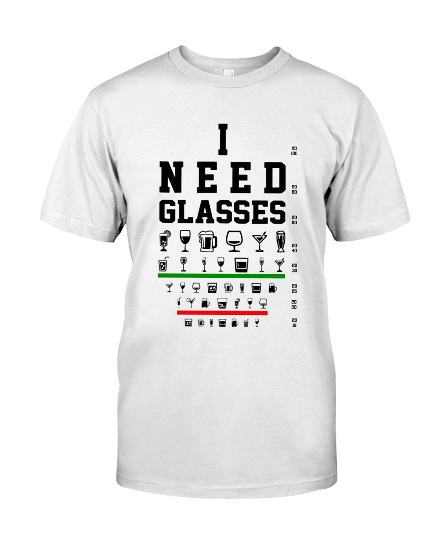 I Need Grasses Optometrist Classic T-Shirt