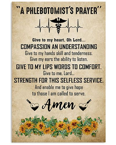 A Phlebotomist's Prayer