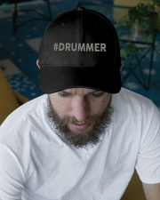 Drummer Gift Embroidered Hat garment-embroidery-hat-lifestyle-06