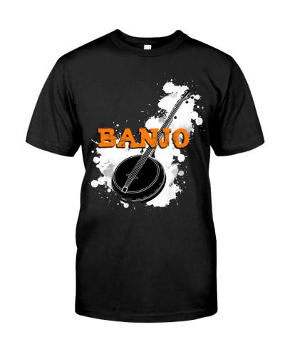 Black Cool Banjo