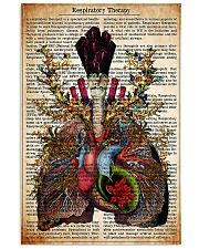 Respiratory Therapy Text 11x17 Poster front