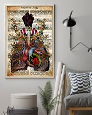Respiratory Therapy Text 11x17 Poster lifestyle-poster-1