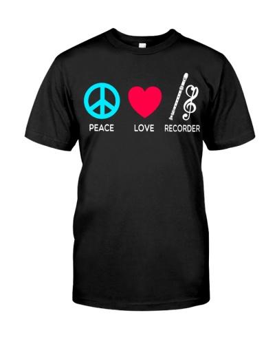 Peace Love Recorder