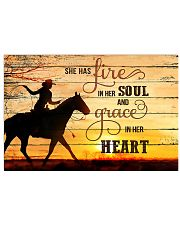 Horse Girl - She has fire in her soul  17x11 Poster front