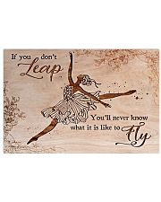 Ballet You'll never know what is it like to fly 17x11 Poster front