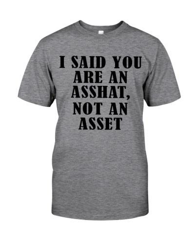 Accountant You are an asshat not an asset