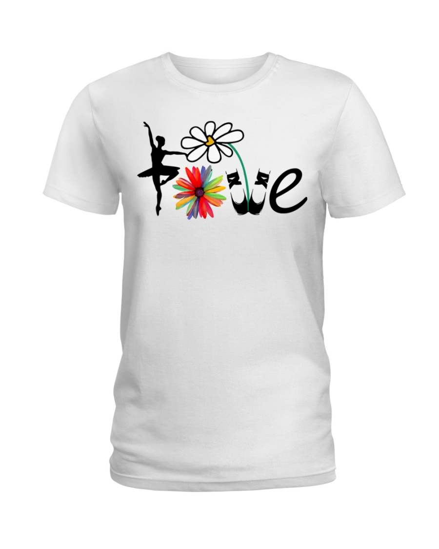 Ballet Love Ladies T-Shirt