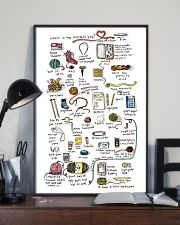Crochet - What's In The Knitter's Bag 11x17 Poster lifestyle-poster-2