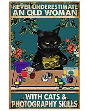 Old Woman With Photography Skills Photographer 11x17 Poster front