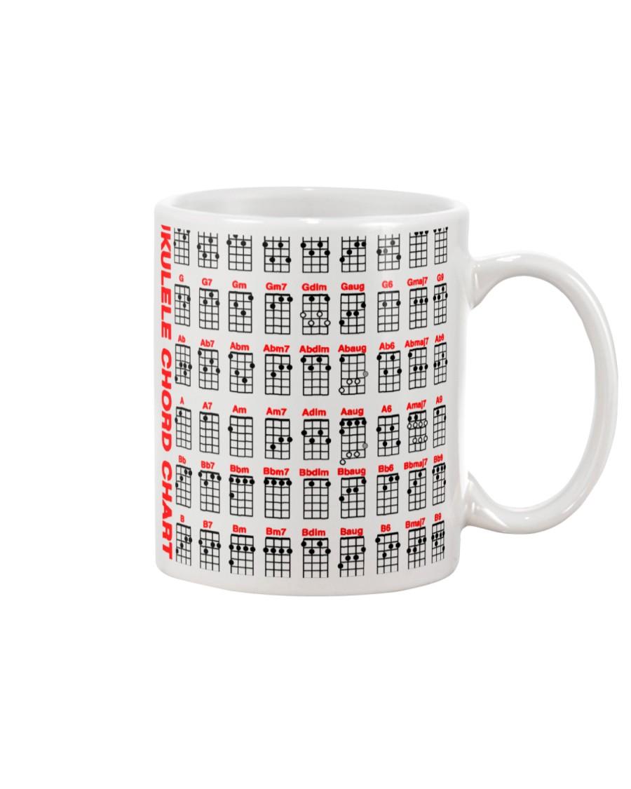 Ukulele Chord Chart Mug