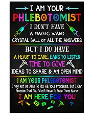 I am your Phlebotomist  11x17 Poster front